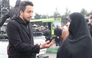 حضور پرشور مردم شهیدپرور چهاردانگه در راهپیمایی یوم الله۲۲ بهمن