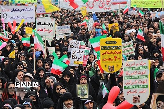 راهپیمایی 22 بهمن در ارومیه