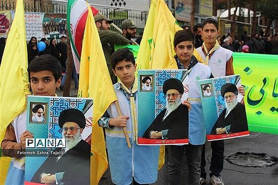 راهپیمایی 22 بهمن در سمنان- 1