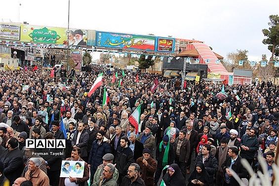 راهپیمایی 22 بهمن در سمنان- 2