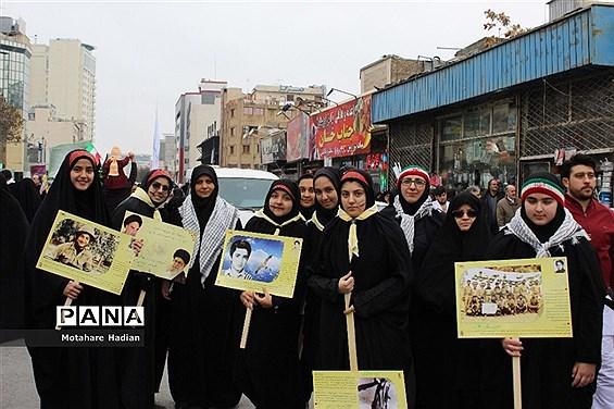 جشن چهل سالگی انقلاب اسلامی در راهپیمایی 22 بهمن مشهد