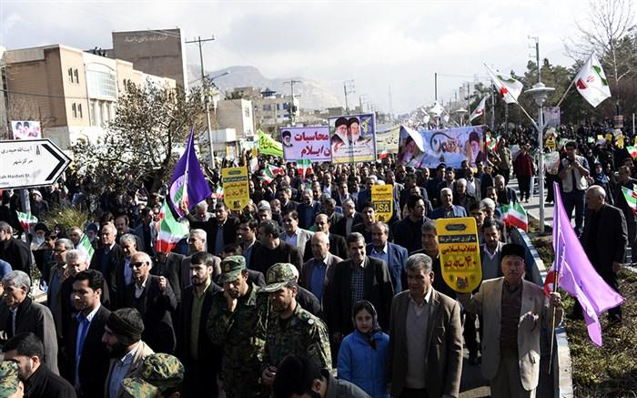 تقدیر استاندار ایلام از حضور حماسی مردم در راهپیمایی ۲۲ بهمن