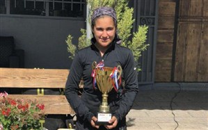 دختر نوجوان ارومیه ای به عضویت تیم ملی تنیس درآمد