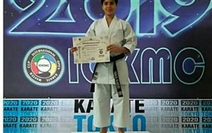 کسب رتبه نخست رقابت های بین المللی کاراته توسط دانش آموز خوزستانی