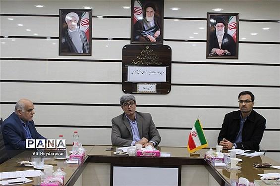سومین جلسه هیات رئیسه شورای دانشآموزی شهرستان بوشهر