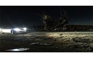 حمله تروریستی به اتوبوس کارکنان سپاه در سیستان و بلوچستان +  عکس و ویدئو