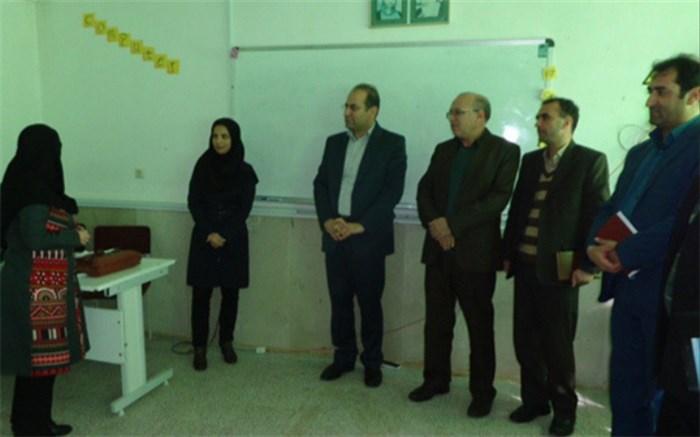 بازدید مدیرکل آموزش و پرورش همدان از دبیرستان زینب کبری(س) گل تپه