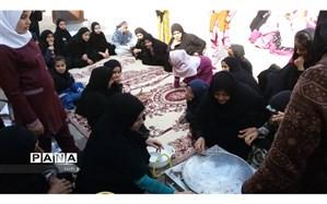 اجرای یک روزبانشاط دانش آموزان  وخانواده دردبستان فضیلت شهرستان حمیدیه