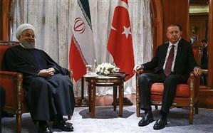تاکید روحانی و اردوغان بر توسعه همکاریهای ایران و ترکیه در همه عرصهها