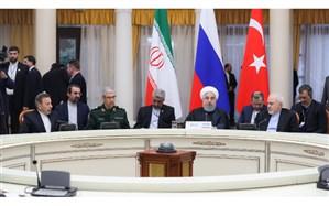 روحانی: حضور نیروهای خارجی در سوریه بدون مجوز دولت این کشور باید هر چه سریعتر خاتمه یابد