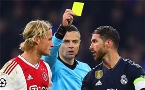 یوفا کاپیتان رئال مادرید را محروم میکند