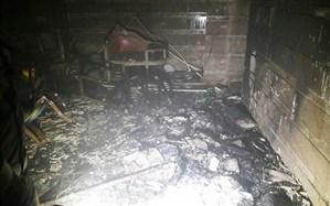 یک کشته و 9 مصدوم در  انفجار خیابان ویلای تهران