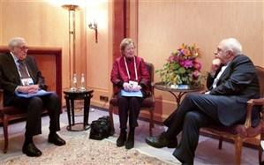 دیدار 2 عضو گروه ریشسفیدان بینالمللی با ظریف