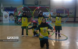 مراسم اختتامیه استانی المپیاد ورزشی درون مدرسه ای به میزبانی دبیرستان دکتر شاهی