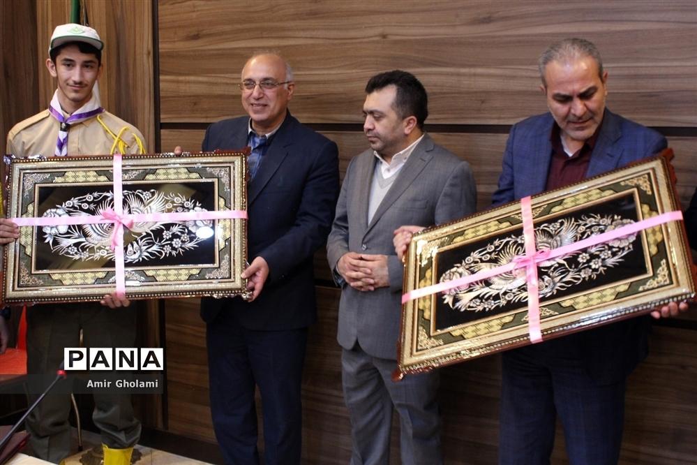 نشست قائم مقام وزیر با مدیرکل و مسئولان آموزش و پرورش شهرستانهای تهران