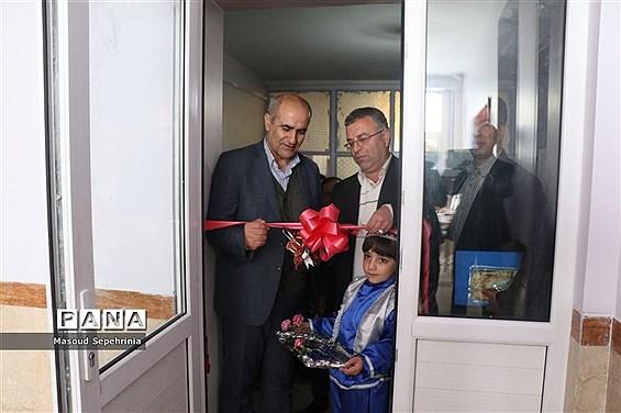 افتتاح نمازخانه دبیرستان باقرالعلوم باسمنج