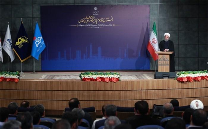 روحانی: در جنگ اقتصادی امروز باید همه با هم و پشتیبان هم باشیم
