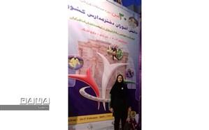 سرگروه تربیت بدنی سما شیروان، برای سومین سال متوالی داور مسابقات ورزشی دختران مدارس کشور انتخاب شد