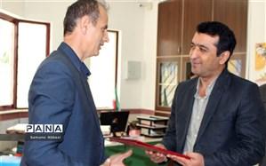 رئیس سازمان دانشآموزی ناحیه یک شهرستان ساری معارفه شد