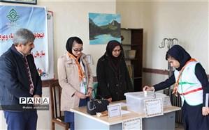 انتخابات مجامع اعضا و مربیان سازمان دانشآموزی استان کردستان برگزار شد