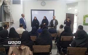 بازدید رئیس اداره استعدادهای درخشان از کلاسهای ضمن خدمت طرح ملی شهاب