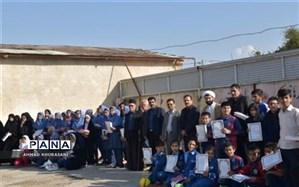 برگزاری مراسم تجلیل از دانش آموزان برتر قرآنی در لالی