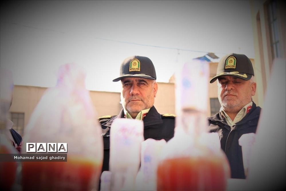 طرح رعد 22 پلیس پیشگیری پایتخت