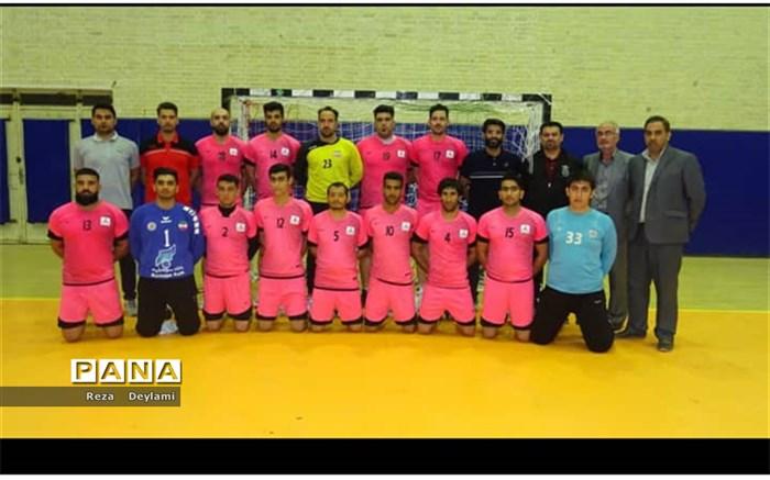 صعود تیم هندبال نفت شهرستان امیدیه به لیگ یک کشور با پیروزی در مقابل تیم یزد پایان یافت