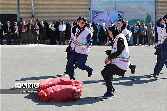 مانور یاوران انقلاب استان البرز