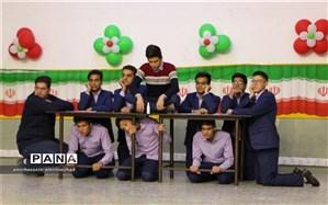 حضور فوق العاده گروه تئاتر دبیرستان ایرانشهر در جشنواره هنرهای نمایشی