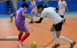 مسابقات فوتسال جام فجر در دبیرستان شهید مهدی حکمت ناحیه 3 مشهد