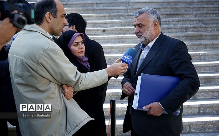 وزرای روحانی پس از جلسه هیات دولت