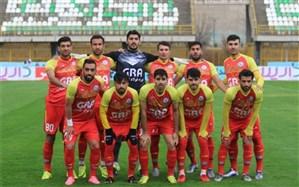 نماینده فوتبال استان البرز  در لیگ دسته یک کشور شکست خورد