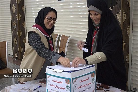انتخابات مجامع اعضا و مربیان سازمان دانشآموزی خوزستان -۱