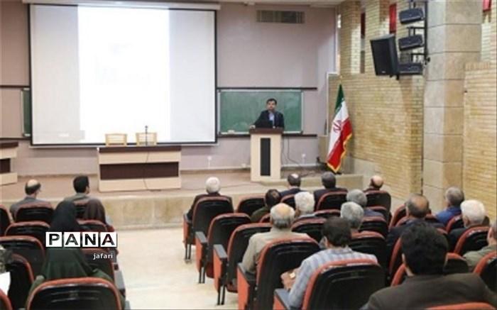 مدیر کل آموزش و پرورش اصفهان:  انجمن های علمی به یاری آموزش و پرورش بیایند