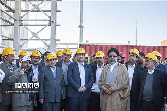 آغاز عملیات انتقال آب خلیج فارس به لامرد