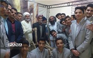 حضور دانش آموزان دبیرستان شهید ذوالفقاری میبد در همایش ملی قنات