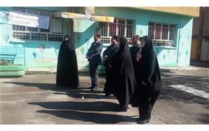 بازدید معاون پژوهش اداره کل آموزش و پرورش شهرستان های استان تهران از چهاردانگه