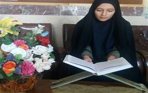 زهرا سعادتی حافظ 4 جز از قرآن کریم: حفظ قرآن باعث تحول در زندگیم شده است