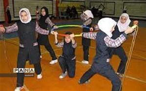 مسابقات طناب زنی دختران مدارس (مقطع متوسطه اول) برگزار شد