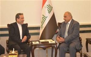 عراقچی با نخست وزیر عراق دیدار کرد