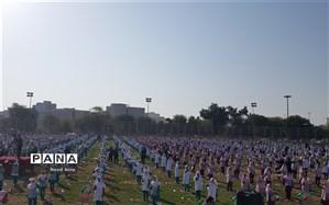 برگزاری همایش بزرگ ۳۰۰۰ نفری یاوران ورزشی و تربیت بدنی