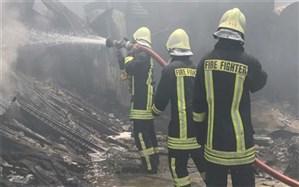 آتشسوزی در مجتمع ۵۶ واحدی در تهران