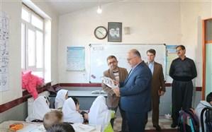 بازدید سرزده مدیرکل آموزش و پرورش استان از مدارس شهرستان اشنویه