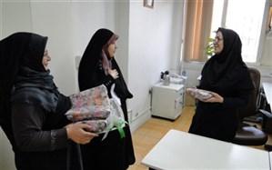 تجلیل از بانوان همکار اداره به مناسبت ولادت حضرت فاطمه (س) و روز زن