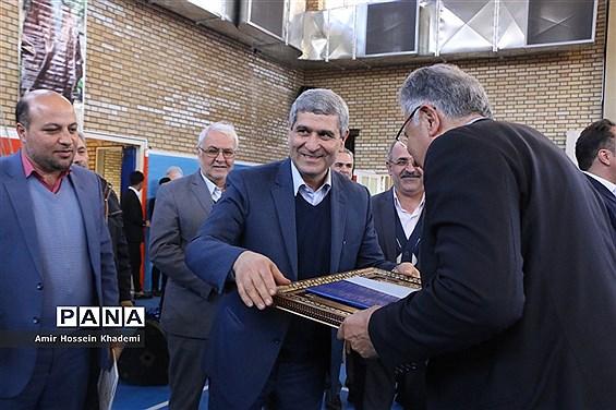 افتتاح مجموعه ورزشی درونمدرسهای خیرساز در استان البرز