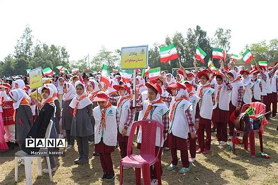 همایش تشکیلاتی یاوران انقلاب در بوشهر-1