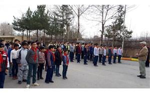آموزش بیش از 500 دانش آموز تشکیلاتی درفضایی اردویی