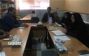 سفر رئیس سمپاد یزد به شهرستان ابرکوه در خصوص طرح ملی شهاب