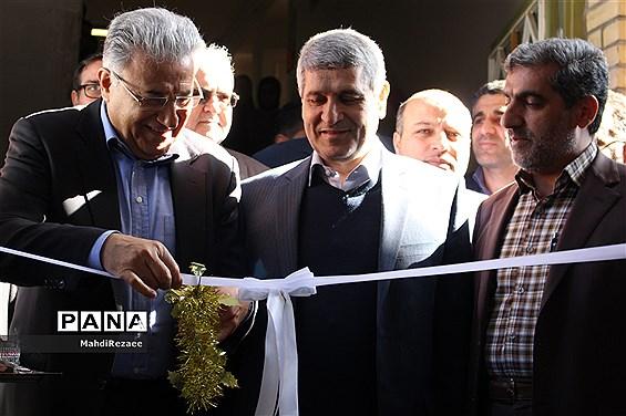 افتتاح سالن ورزشی چندمنظوره مدرسه رهنمایان